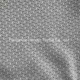 Manchas de color gris claro de Jacquard teje telas para colchones frontera
