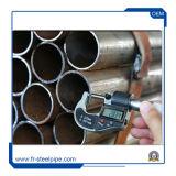60mm tubo de acero sin costura ms de 2 pulgadas huecos de sección redonda, perfecta sin costura soldada tubería sin costura