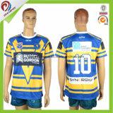 Le uniformi strette di rugby di misura hanno personalizzato il pullover della lega di rugby degli uomini di Sublmation
