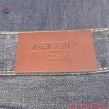 Качество PU Emobossed джинсы кожаный ярлык для одежды