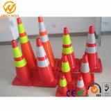 Feuille réfléchissante haute sécurité du trafic cône en PVC