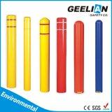 、鋼鉄支柱のポストカバーは多彩な、具体的なボラードカバープラスチック支柱カバー保護する