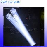 Haz de LED de 200W de iluminación de la etapa de la cabeza en movimiento