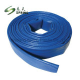 PVC bleu de l'eau Layflat flexible d'irrigation
