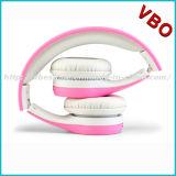 Auriculares aéreos dos auscultadores do DJ dos miúdos das crianças Foldable