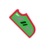 Custom 3D Soft Frigorífico, PVC magnéticos frigorífico magneto, Frigorífico Molduras Fotográficas do magneto