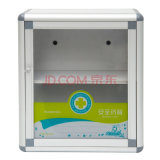 Metal la cabina de los primeros auxilios para el almacenaje de la medicina tamaño pequeño
