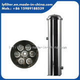 Agua Grande baja tasa de 10t-100T/H Caja de filtro de acero inoxidable con material 316