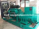 リカルドのディーゼル機関を搭載する250kw電気ディーゼル発電機か緊急時の発電機