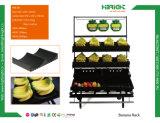 Plastiksupermarkt-Bananen-Speicher-Bildschirmanzeige-Zahnstange