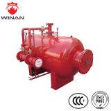 消火活動装置のための水平のステンレス鋼の泡のぼうこうタンク
