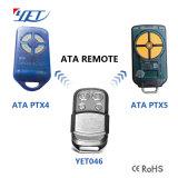 Un cancello da 433.92 megahertz/trasmettitore di telecomando portello del garage per il prezzo più basso di codice ATA di Ptx4 Secura
