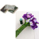 - Tissu de fil de la tige florale jauge 18 450mm Blanc