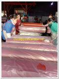赤いブタジエンのスチレンのゴムまたは赤いゴム製床のマットまたは赤いゴム製シート