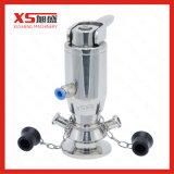 Válvula automática inoxidável da amostragem de Aspetic da restauração do aço SS316L