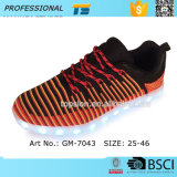 Qualität LED, die Flyknit Schuhe für Männer laufen lässt