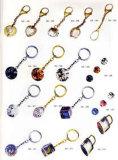Chaîne de clés de cristal