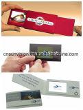 "2,4"" ЖК-брошюра бизнес имя отправителя видео карта"