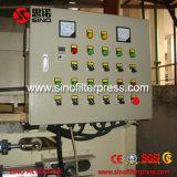 Prensa de filtro de desecación de la correa del lodo hecha en China