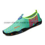 Schoenen van de Yoga van de Schoenen van Aqua van het Water van de Vrouwen van mannen zwemmen de Blootvoetse Sneldrogende de Schoenen van de Huid