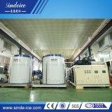 Shenzhen Sindeice 50t escamas evaporador paralelo que hace la máquina de hielo