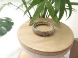 シンプルな設計のジルコンの石の白いダイヤモンド女性のための真鍮の銅党リング