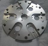 Pieza de aluminio trabajada a máquina CNC para la maquinaria