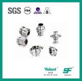 Válvula de verificação soldada RUÍDO Sfx044 do aço inoxidável 304 316L Stanitary