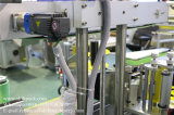 Автоматическая стеклянную бутылку трех сторон машины для маркировки бутылку пива