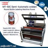 De halfautomatische Machine van de Etikettering van het Type Widden voor de Fles van de Melk (MT-50C)