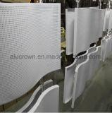Het gebogen Geperforeerde Comité van het Aluminium voor het Blad van het Plafond