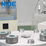 De volledige Automatische Machine In drie stadia van Assmebly van de Lopende band van de Stator van de Motor