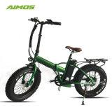Les Chinois de matières grasses E Vélo pliable de pneu