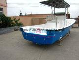 Liya 7,6 m en fibre de verre extérieur Panga Bateau Bateau de pêche sportive