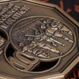 リボンが付いている安いカスタム連続した競争賞メダル