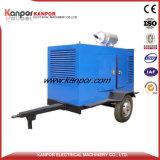 Weifang 22kw 27,5 kVA diesel générateur de puissance avec remorque