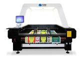 CNC Cortadoras de tela / Cortadora de tela de rodillos de alimentación automática de la máquina cortadora láser