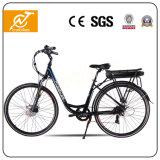 bicis eléctricas del pedal de 25km/H 36V con la batería trasera del estante
