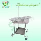 carrello del bambino dell'acciaio inossidabile per l'ospedale