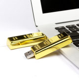 USB 섬광 드라이브 펜 드라이브 8GB 16GB 골드 바 USB 2.0 기억 장치 Pendrive