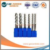 Aluminum를 위한 플루트 2/3/4 Solid Carbide End Mill