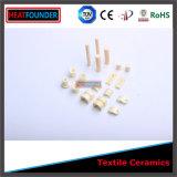 Casquillos de cerámica de los espacios de las guías de los componentes de la materia textil