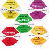 OEM 25g Indicator van de Verschepende Etiketten van de Sticker van de Schok de Zelfklevende