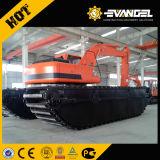 Un escavatore anfibio idraulico ZY210SD da 26 tonnellate