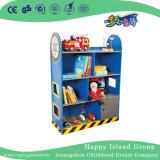 L'École de peinture rouge Cartoon enfants étagère en bois (HG-4103)