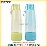 Bunter Großhandelsplastik Sports Wasser-Flasche für Verkauf