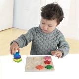 아이들 나무로 되는 모양 교육 조각그림 맞추기 장난감