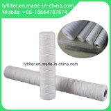 Filtro del polipropileno de la herida de la cadena para el filtro de agua del agua mineral/5 micrones de Evian