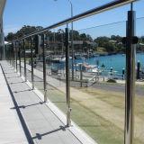 Erstklassiges Rostschutzim freiendach-Glasgeländer-Entwurf