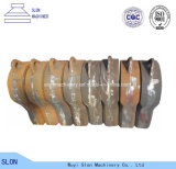 金属の鋼鉄鋳造の自動シュレッダーの粉砕機をリサイクルすることはハンマーを分ける
